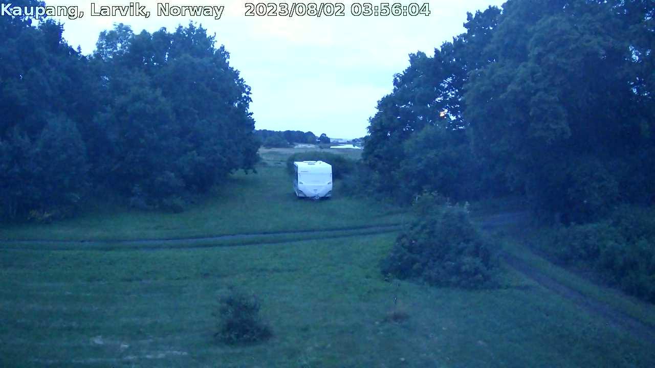 Webcam Kaupang, Larvik, Vestfold, Norwegen